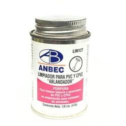 LIMPIADOR PARA PVC Y CPVC 1/8 ANBEC