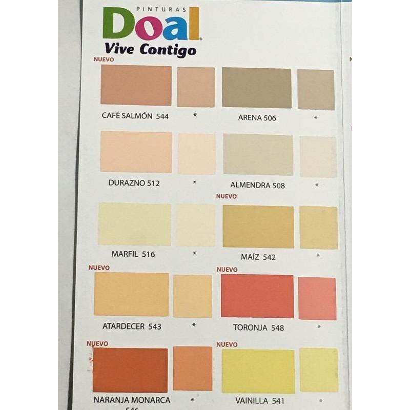 Muestrario pintura doal rolux vinilica base agua for Muestrario de pinturas