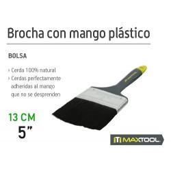 """BROCHA CON MANGO PLASTICO 5"""""""