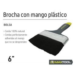 """BROCHA CON MANGO PLASTICO 6"""""""