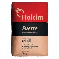 CEMENTO GRIS HOLCIM FUERTE 50 KG.