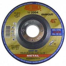 "DISCO DE DESBASTE DE METAL 4 1/2"" X 1/4"" X 7/8"" (2004) AUSTROMEX"